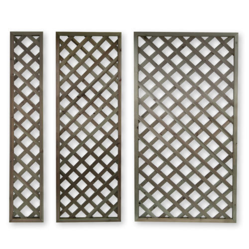 Wooden 1 8m High Lattice Panels Trellis Outdoor Garden