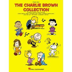 The Charlie Brown Collection Sheet Music Piano Solo Songbook NEW 000313177