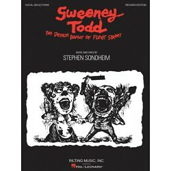 Kyпить Sweeney Todd Revised Edition Sheet Music Vocal Selections Book NEW 000313444 на еВаy.соm