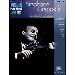 Stephane Grappelli Sheet Music Violin Play-Along Book and Audio NEW 000842428