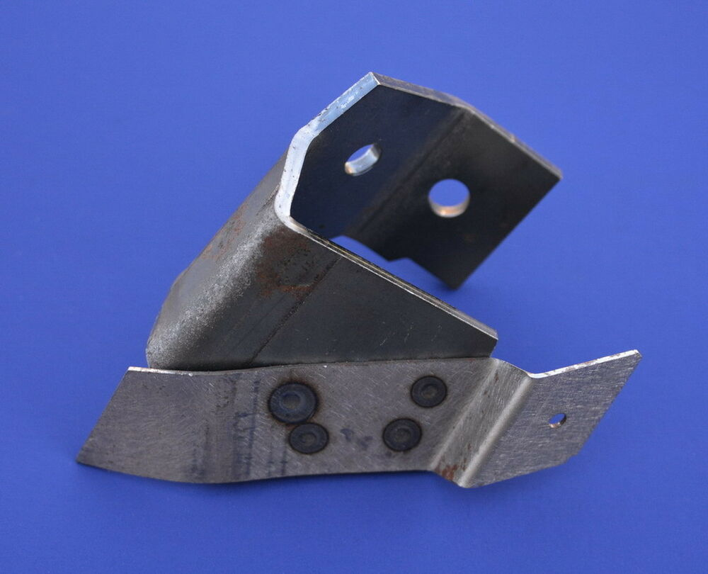55 56 57 Chevy Seat Shell Forward Stop Bracket Driver New 1955 1956 ...
