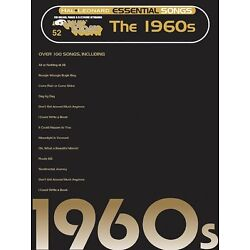 Kyпить Essential Songs The 1960s Sheet Music E-Z Play Today Book NEW 000100209 на еВаy.соm