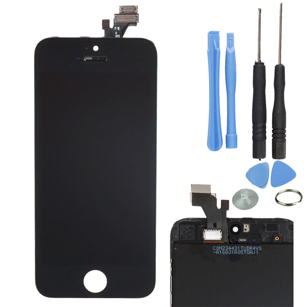 replacing iphone 5 screen replacement retina lcd touch screen digitizer glass 5275