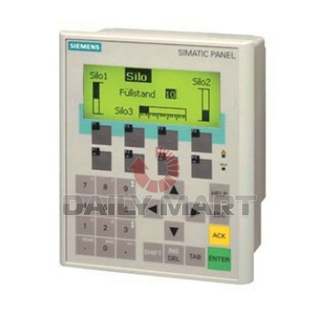 siemens new 6av6641 0ca01 0ax1 plc mono touch screen hmi operator panel display ebay. Black Bedroom Furniture Sets. Home Design Ideas