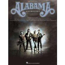 Alabama Anthology Sheet Music Piano Vocal Guitar SongBook NEW 000306781