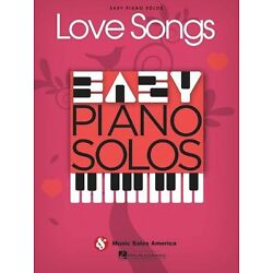 Kyпить Love Songs Easy Piano Solos Sheet Music Solo Book NEW 014041283 на еВаy.соm