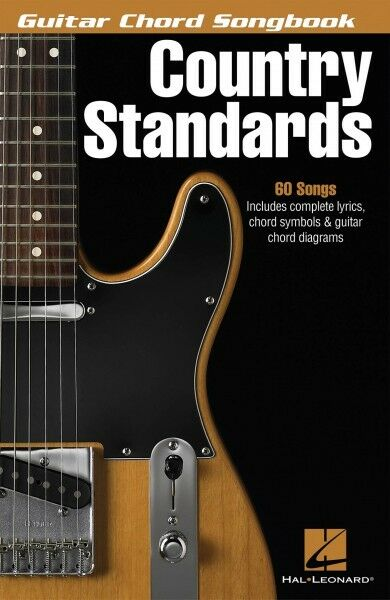 country standards sheet music guitar chord songbook book