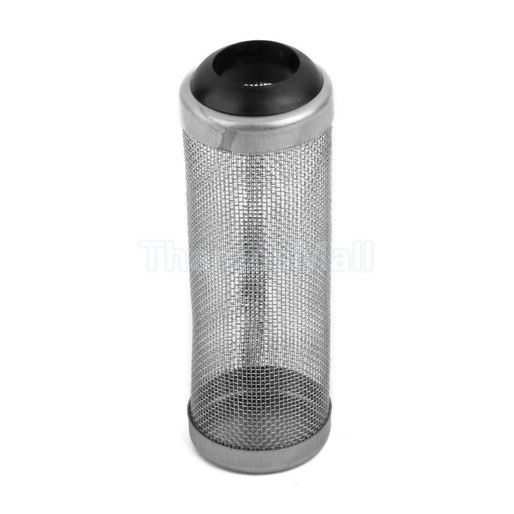 Stainless steel water inlet filter guard mesh net dia for Fish pond filter mesh
