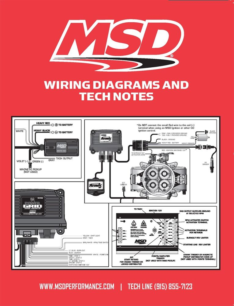 msd ignition 9615 book wiring diagrams tech notes. Black Bedroom Furniture Sets. Home Design Ideas