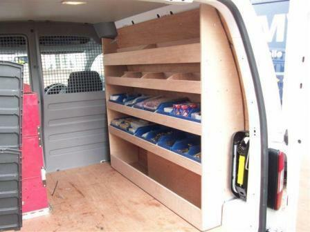 Van Storage Racking Vw Caddy Swb Plywood Shelving Storage