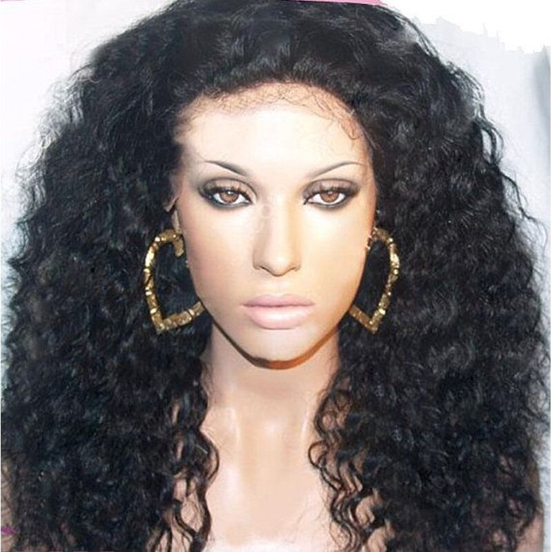 Lace front wig lace wig 100 indian remy human hair curly wave lace front wig lace wig 100 indian remy human hair curly wave weave full wigs ebay pmusecretfo Choice Image
