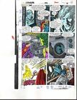 1988 Buscema Avengers 292 page 15 Marvel original color guide art: Thor/She-Hulk