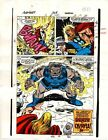 1989 Avengers 309 page 30 original Marvel Comics color guide art: 1980's Thor