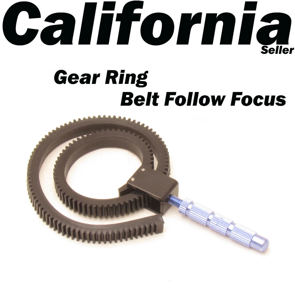 Adjustable Gear Ring Belt for DSLR Follow Focus FF Canon ...