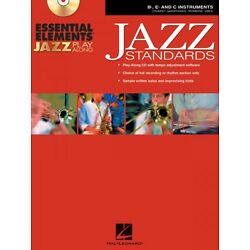 Essential Elements Jazz Play-Along Standards Bb Eb and C Instruments 000841987