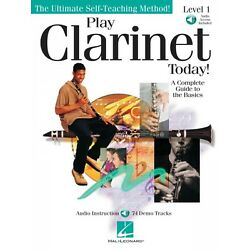 Kyпить Play Clarinet Today Level 1 Instructional Book and Audio NEW 000842046 на еВаy.соm