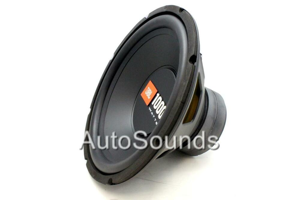 jbl cs1214 cs series 1000 watts 12 single 4 ohm car. Black Bedroom Furniture Sets. Home Design Ideas
