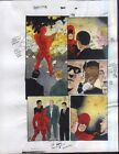 Vintage 1997 Daredevil 364 page 10 Marvel Comics original color guide art:1990's