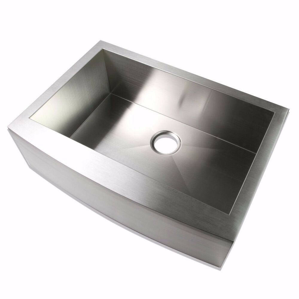 30inch Stainless Steel Farmhouse Apron Kitchen Sink with ...