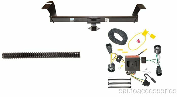rear mounted class 3 trailer hitch w   wiring  fits grand caravan  town  u0026 country