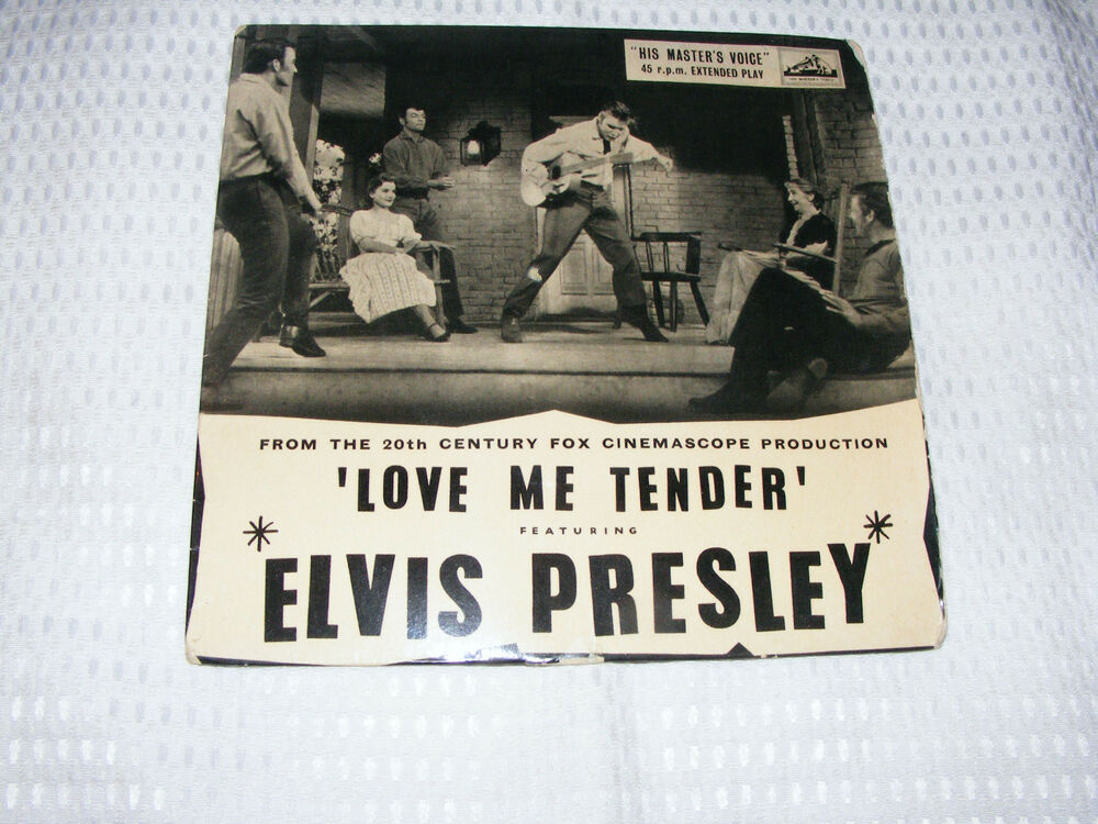 elvis presley ep love me tender let me poor boy we 39 re gonna move ebay. Black Bedroom Furniture Sets. Home Design Ideas