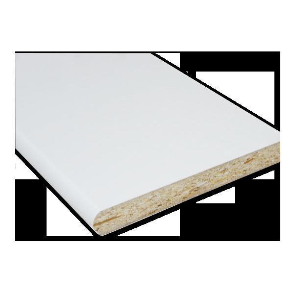 White laminated window board polyboard for cill
