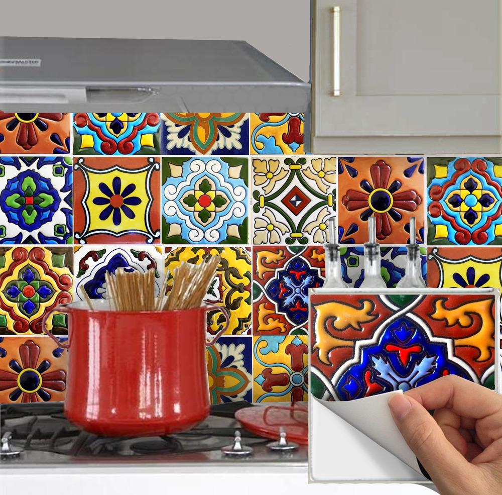 Decorative Vinyl Wall Tiles Kitchen