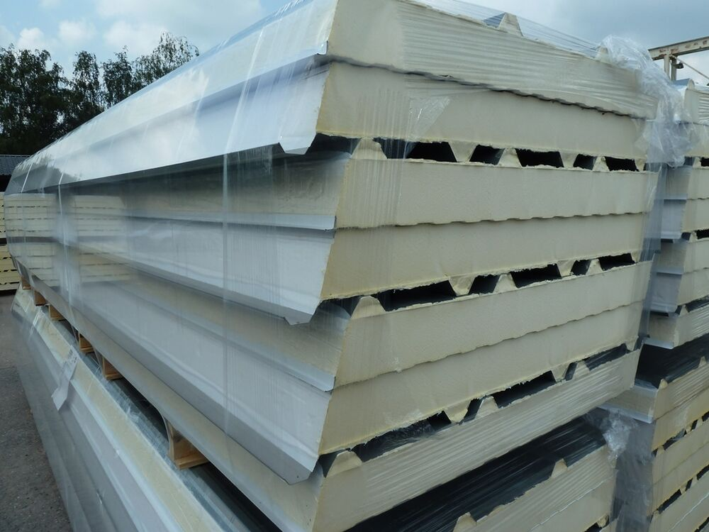 Composite Insulated Roof Panels Trisomet Box Profile