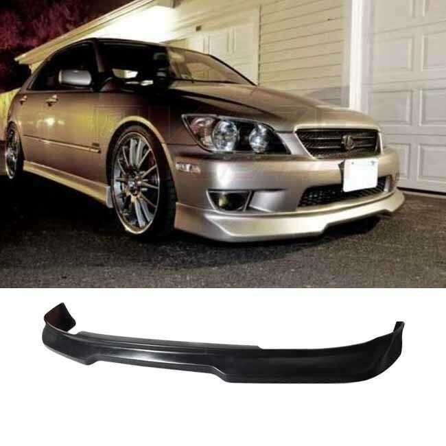 2001-2005 LEXUS IS300 GDY ADD ON URETHANE FRONT BUMPER LIP