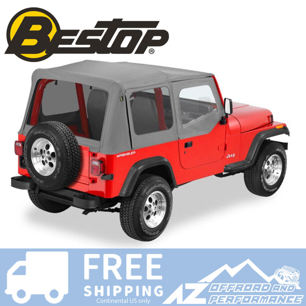 Bestop Replace A Top 88-95 Jeep Wrangler YJ Half Door