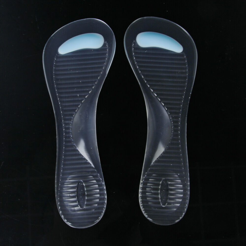 Gel Pad Arch Amp Metatarsal Support Massage Insoles 3 4 Size