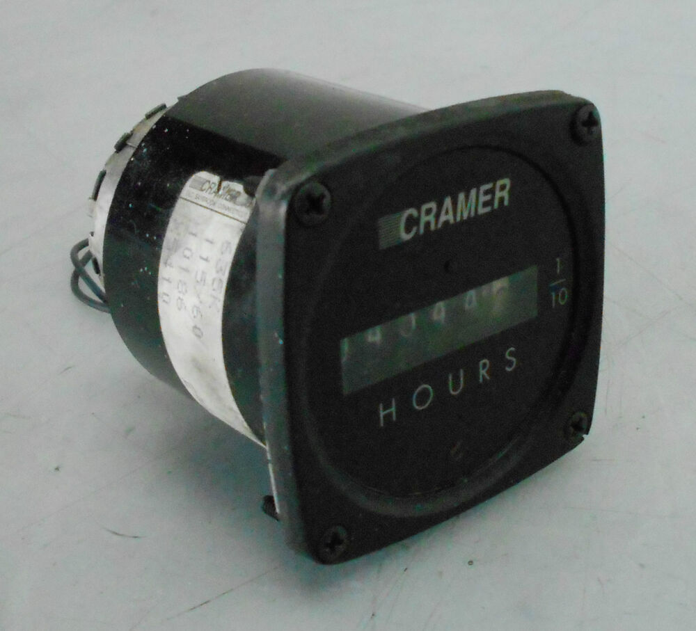 Cramer Hour Meter : Cramer digit hour indicator gh d used warranty