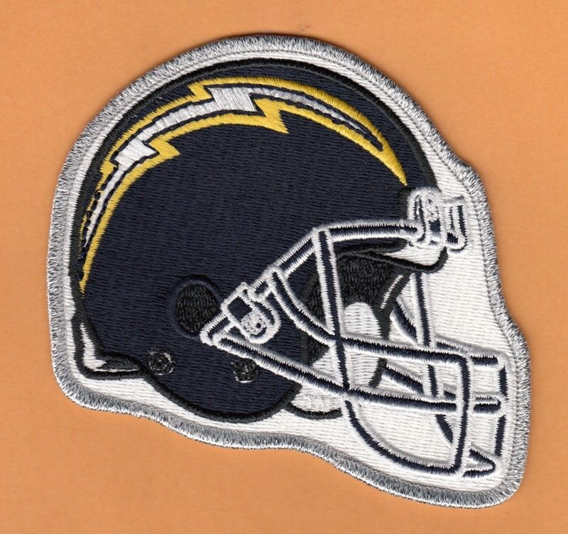 San Diego Chargers Large Official Nfl Team Emblem Patch