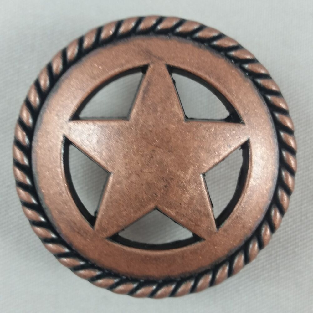 Texas western star cabinet hardware knobs cp202cpr ebay for Star cabinet pulls
