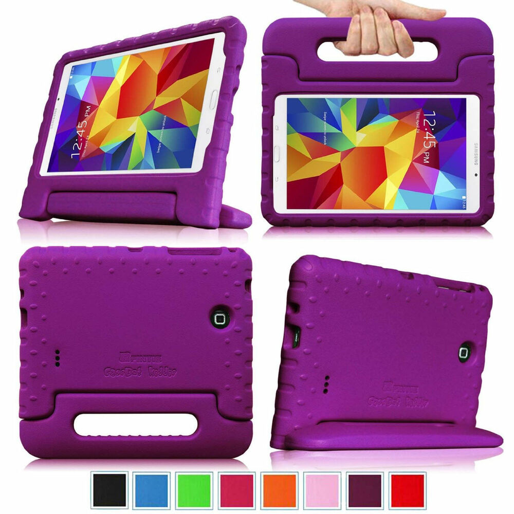 samsung galaxy tab 4 7 0 7 inch tablet kids friendly back. Black Bedroom Furniture Sets. Home Design Ideas
