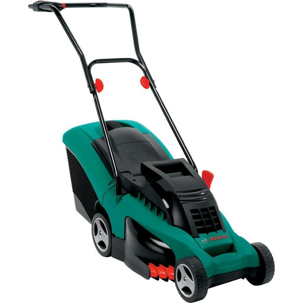 bosch rotak 37 electric rotary lawnmower 1400 watt motor 37 cm 370 mm cut 3165140816618 ebay. Black Bedroom Furniture Sets. Home Design Ideas
