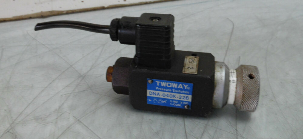 Twoway Hydraulic Pressure Switch  Dna