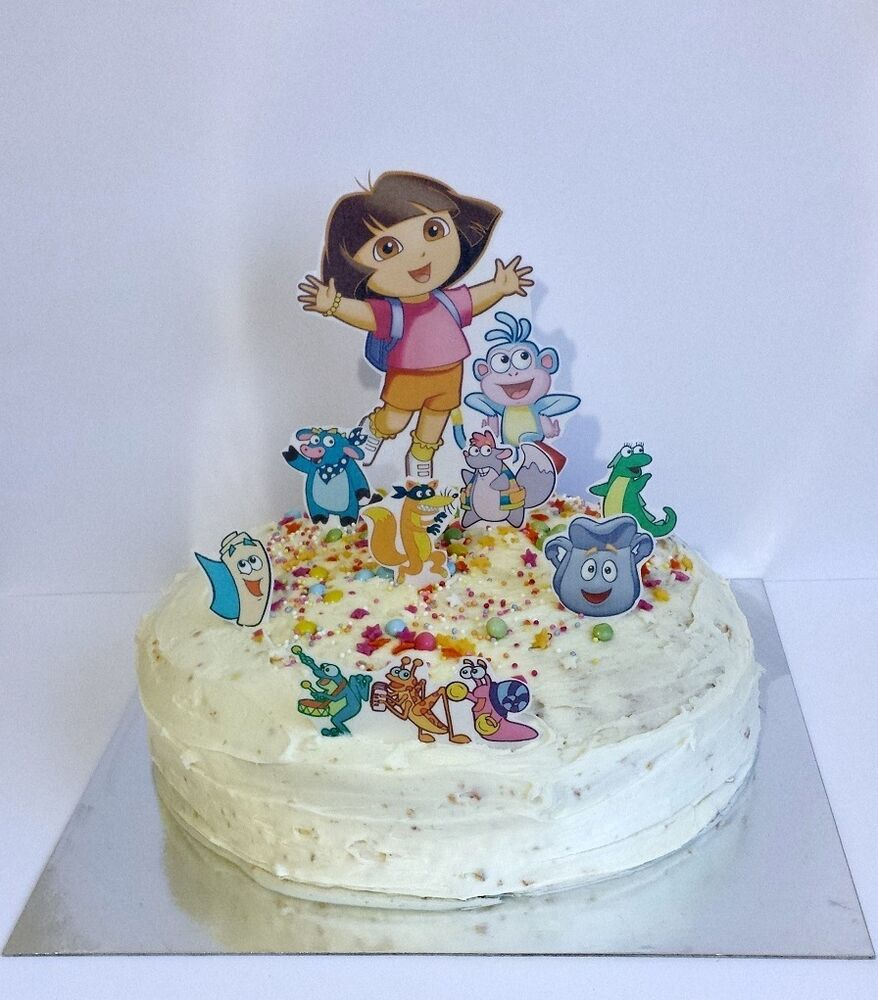 Dora The Explorer Cake Topper Edible Image