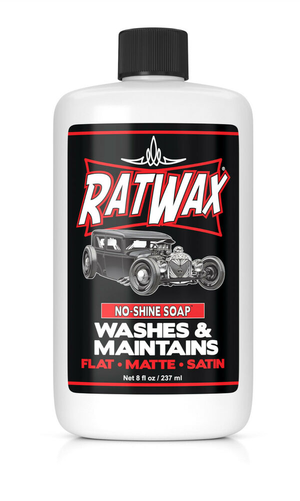 Car Detailing Supplies >> RAT WAX ® - No Shine CAR SOAP - rat rod, kustom, fink, hot rod | eBay