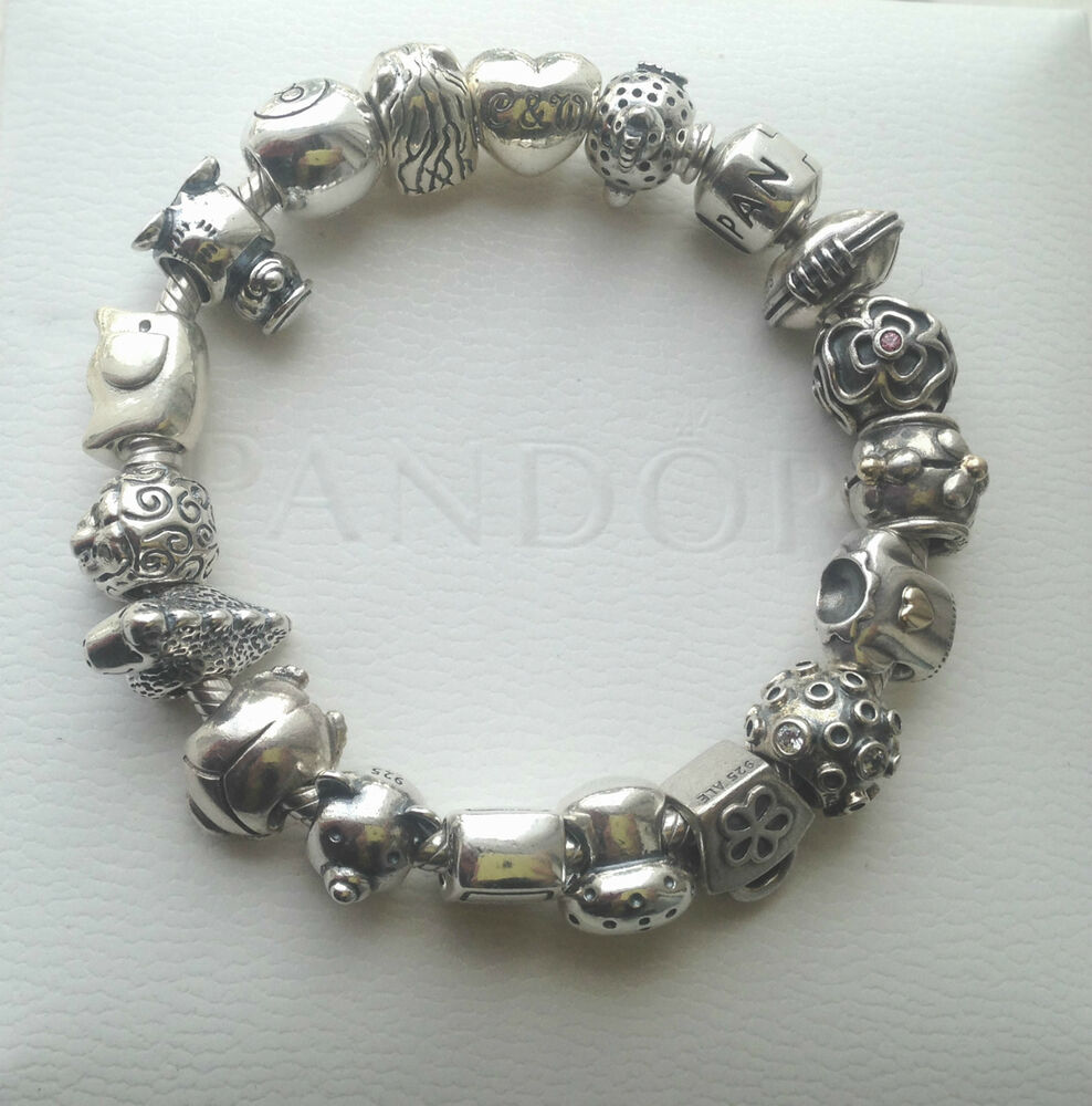 genuine authentic pandora discontinued charm collection