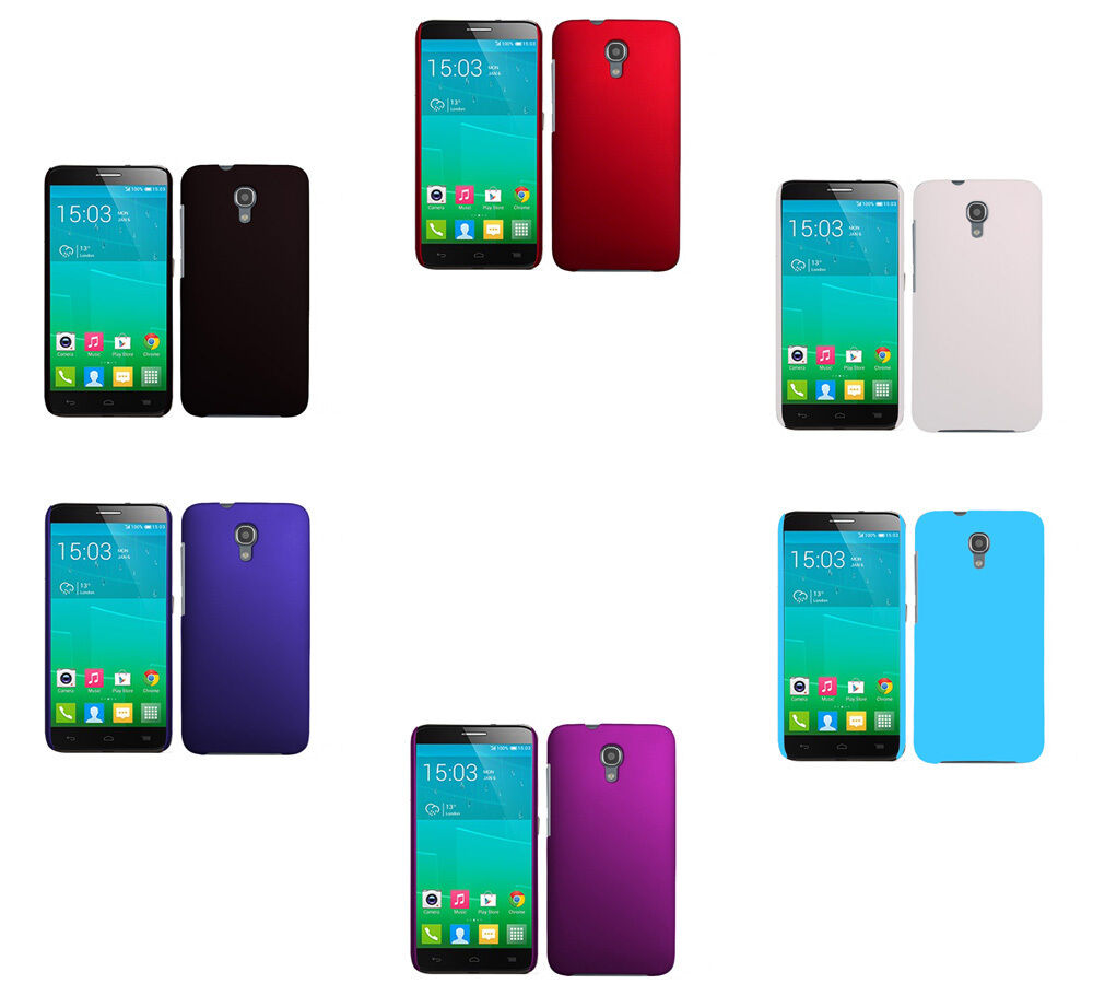 Hard Matte Plastic Snap-On Cover Case For Alcatel One Touch iDol 2S 2 S OT-6050Y eBay