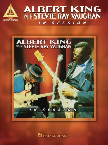albert king with stevie ray vaughan in session sheet music guitar tabl 000124869 ebay. Black Bedroom Furniture Sets. Home Design Ideas