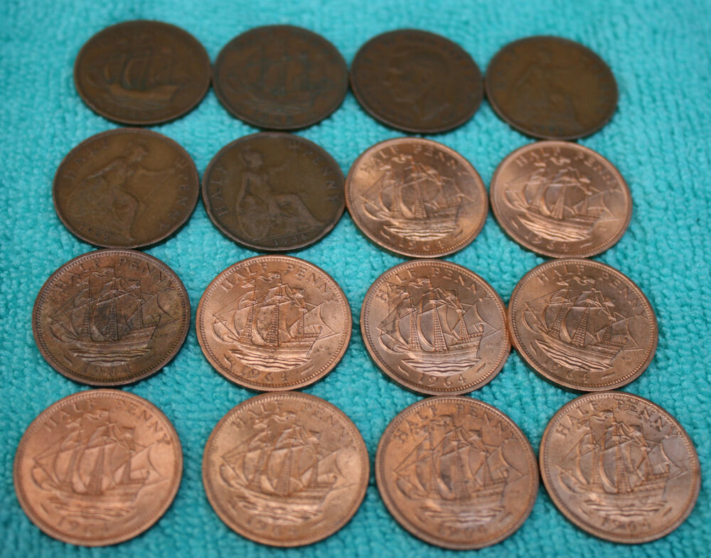 many coins from all - photo #21