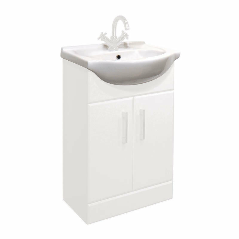 550mm Standard Replacement Basin Sink For Classic Bathroom Vanity Unit Ebay