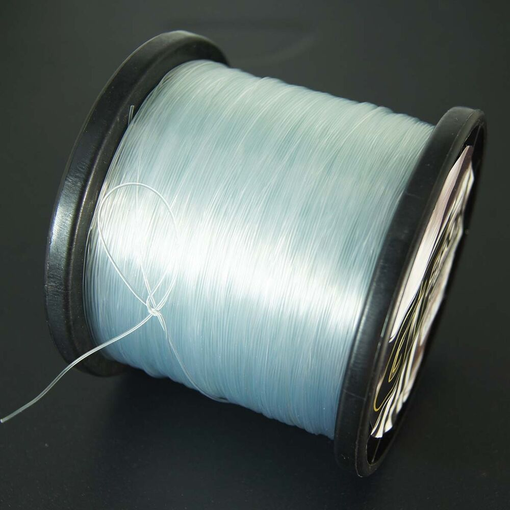 500m 60lb nylon line mono clear super strong smooth for Nylon fishing line