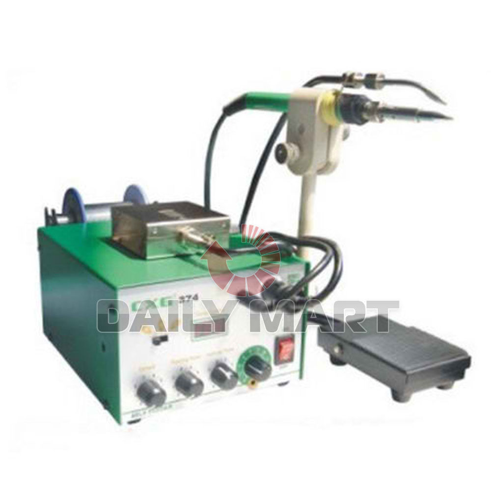 Cnc Welding Supplier South Africa: CXG-374 Automatic Tin Supply Feed System Lead-free Welding