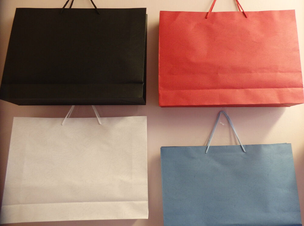 Extra Large Paper Bags With Handles Paper Gift Bag Retail