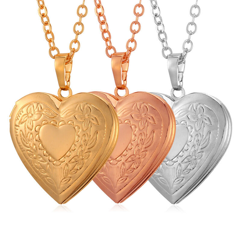 Love Gift Gold Heart Pendant Wallpaper : Love Heart Pendant Necklace Photo Picture Locket Gold ...