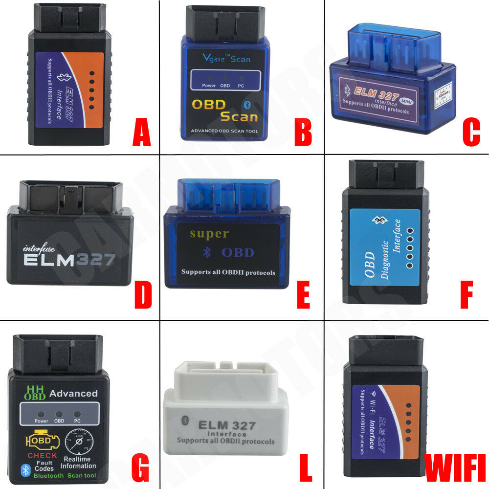 elm327 v2 1 obd2 can bus bluetooth or wifi car auto diagnostic interface scanner ebay. Black Bedroom Furniture Sets. Home Design Ideas