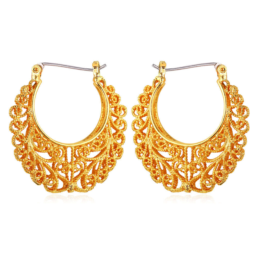Perfect Gold Earrings For Women Indian  Beautiful Yellow Gold Earrings For Women Indian Image U2013 Playzoa.com